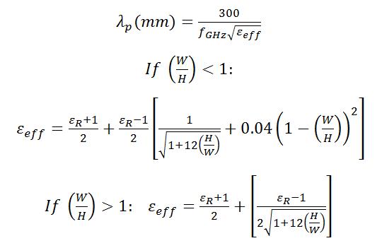 Slotline calculator | converters and calculators.