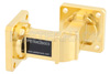 WR-62 Instrumentation Grade Waveguide E-Bend with UG-419/U Flange Operating from 12.4 GHz to 18 GHz