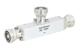 Low PIM 10 dB 7/16 DIN Unequal Tapper Optimized For Mobile Networks From 350 MHz to 5.85 GHz Rated to 300 Watts