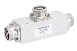 Low PIM 11 dB 7/16 DIN Unequal Tapper Optimized For Mobile Networks From 350 MHz to 5.85 GHz Rated to 300 Watts