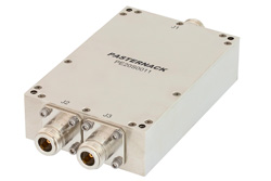 2 Way High Power Broadband Combiner From 800 MHz to 2.5 GHz Rated at 600 Watts, Type N