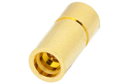 1 Watt RF Load Up to 18 GHz with SMP Male Limited Detent Gold over Nickel Plated Brass