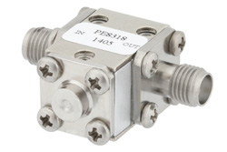 Isolator With 20 dB Isolation From 17.3 GHz to 22 GHz, 10 Watts And SMA Female