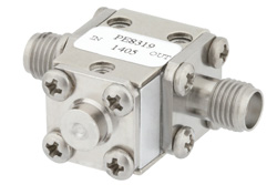 Isolator With 20 dB Isolation From 27 GHz to 31 GHz, 5 Watts And 2.92mm Female