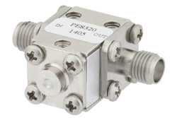 Isolator With 14 dB Isolation From 26.5 GHz to 40 GHz, 5 Watts And 2.92mm Female