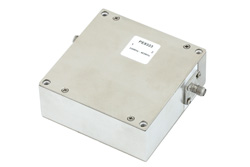 High Power Isolator With 20 dB Isolation From 330 MHz to 403 MHz, 150 Watts And SMA Female