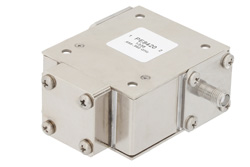 High Power Isolator With 18 dB Isolation From 698 MHz to 960 MHz, 1000 Watts And SMA Female