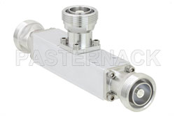 Low PIM 10 dB 7/16 DIN Unequal Tapper Optimized For Mobile Networks From 350 MHz to 5.85 GHz Rated to 300 Watts (図2)