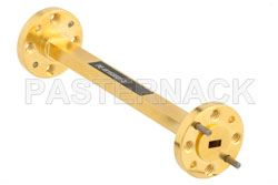 WR-15 Instrumentation Grade Straight Waveguide Section 3 Inch Length with UG-385/U Flange Operating from 50 GHz to 75 GHz (図2)