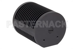 25 Watt RF Load Up To 18 GHz With N Female Input Round Body Black Anodized Aluminum Heatsink (図2)