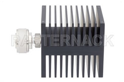 Medium Power 50 Watts RF Load Up To 8 GHz With 7/16 DIN Male Input Square Body Black Anodized Aluminum Heatsink (図2)