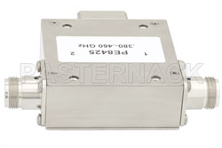 High Power Isolator With 20 dB Isolation From 380 MHz to 460 MHz, 100 Watts And N Female (図2)